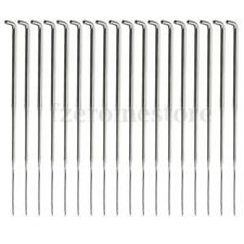 18Pcs Wool Felting Needles Handle Holder Cross Stitch Sewing Pins Handcraft Tool