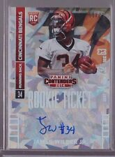 2014 Contenders Cracked Ice James Wilder Auto Rc Serial # to 22