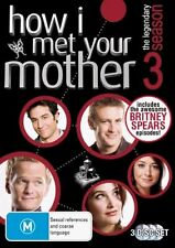 How I Met Your Mother : Season 3 DVD New/Sealed Region 4