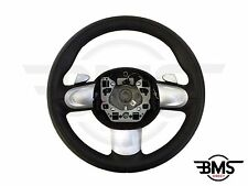 BMW Mini One / Cooper / S / D 3-spoke AUTOMATICO IN PELLE VOLANTE R55 R56