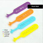 4Pcs Novelty Creative Help Me Bookmarks Label Memo Book Marker Bookworm Unique