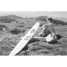 Bauplan Grunau Baby IIb Modellbau Modellbauplan Segelflugzeug
