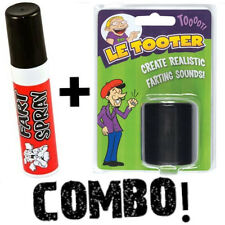 Fart Spray + Le Tooter Combo Create Realistic Fart Smell Sounds Pooter Machine