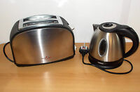 Electric Stainless Steel 1.2L Powerpart Kettle AND Toaster For Caravan Motorhome