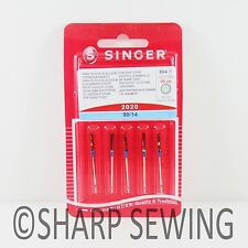 5 SINGER 2020 HOME SEWING MACHINE NEEDLES SIZE #14/90 15X1 HAX1 130/705H