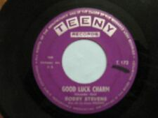BOBBY STEVENS 45 TOURS GOOD LUCK CHARM