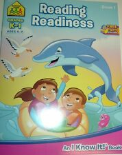 READING READINESS Book 1 - Grades - K-1. Ages 5 - 7 - School Zone Publishing
