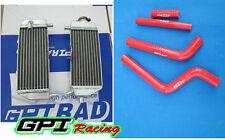 Aluminum Radiator +hose for YAMAHA YZ125 YZ 125 2005-2013 06 07 08 2009 2010