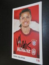 61101 Nora Holstad FC Bayern München Damen original signierte Autogrammkarte