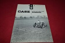 Case Tractor Spring & Spike Tooth Harrows Dealer's Brochure YABE1
