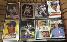 Medium Flat Rate Box Of Baseball Cards Lot 1975-2016