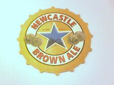 Vintage NEWCASTLE BROWN ALE          Beermat / Coaster -  2 sided