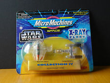 Star Wars Micro Machines X-Ray Fleet: Collection IV