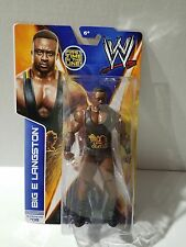 WWE BIG E LANGSTON FIRST TIME IN THE LINE SUPERSTAR #08 ACTION FIGURE