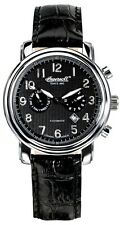 Ingersoll IN1821BK Pullman Black Dial Stainless Automatic Watch LN