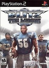 Blitz: The League (Sony PlayStation 2, 2005) Plus Madden 06 Free!