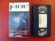 VHS.07) TOTò E PEPPINO DIVISI A BERLINO - MONDADORI VIDEO