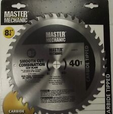 "Master Mechanic 440875 8-1/4"" x 40 Tooth Carbide Circular Saw Blade"