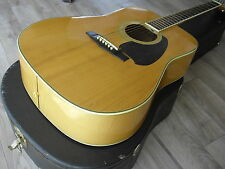 1982 Ibanez Acoustic M-340 Dreadnaught Flame Maple Series Vintage Spruce  Japan
