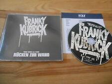 CD Indie Franky Kubrick - Rücken zur Wand (1 Song) Promo FOUR MUSIC sc Presskit