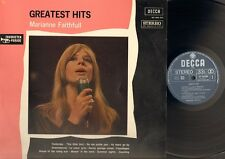 MARIANNE FAITHFULL Greatest Hits LP As Tears Go By YESTERDAY This Little Bird