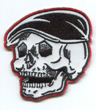 RODDER SKULL by kruse EMBROIDERED PATCH **FREE SHIPPING** psychobilly cars rkp33