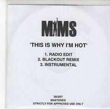 (EE451) Mims, This Is Why I'm Hot - 2007 DJ CD