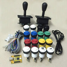 Arcade DIY Kit For 2 Players PC PS3 2 IN 1 with HAPP style joystick and buttons