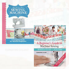 Sewing Machine 2 Books Collection Set How To Use Your Sewing Machine [NEW BRAND]