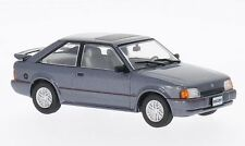 Gran Ford Escort XR3i Gris Metálico Ltd Edition 1; 43 Diecast