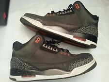 2013 Nike Air Jordan 3 III Retro Fear Size 14. 626967-040 1 2 4 5 6 7