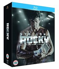 ROCKY 1,2,3,4,5,6 UNDISPUTED COLLECTION 6 FILMS 6 DISCS BLU RAY BOXSET REG B