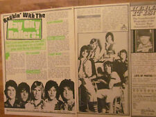 The Bay City Rollers, Two Page Vintage Clipping