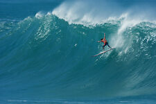 """Andy Irons from the 2009 Eddie Aikau Event 8x12"""" Photo by Pete Frieden"""