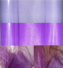 "12 TULLE SPOOLS Rolls Shades of Purple Lot 6"" X 25 Yards Tutu Bridal Ribbon Bows"