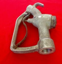 Vintage EBW 402 fuel gas pump handle W/Out Nozzel Industrial Steampunk Gas Oil