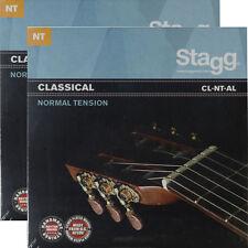 2er-Pack Nylonsaiten Klassik-/Konzert-Gitarre Saiten Seiten Gitarensaiten Satz