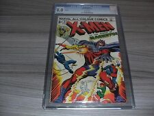 THE UNCANNY X-MEN #91. CGC UNIVERSAL GRADE 8.0 (VERY FINE). MARVEL COMICS 1974