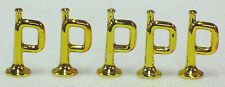 5 TROMPETEN GOLD CHROM-GLANZ PLAYMOBIL TOP zu KLICKY 3242 3408 3420 3388 GARDE