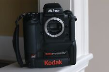 Nikon F5 based Kodak DCS 720 720x CCD DSLR Camera Body for Kodak Color, Leica