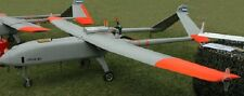 Lipan M-3 Argentina Unmanned Aerial Vehicle Aircraft Desktop Wood Model Large