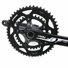 Oval Concepts 700 Crankset FSA Road Bike 50/34 110bcd Compact 175