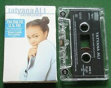Tatyana Ali Daydreamin' + Never Leave You Lonely Cassette Tape Single - TESTED