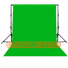 Photography Chromakey Backdrop 1.8m x 2.8m Green 100% Cotton Muslin background