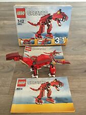 Lego Creator 6914 3-in-1 Prehistoric Hunters Boxed with Instructions