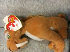 """FREE SHIP!~NEW W TAGS~TY BEANIE BABIES~**DIEGO**~""""ICE AGE DAWN OF THE DINOSAURS"""""""