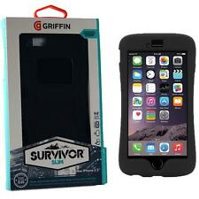 Griffin Survivor Slim Case Cover iPhone 6 Plus/6s Plus Black GB40557 Genuine NEW
