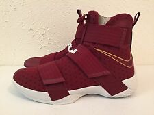 Nike Lebron Soldier 10 Christ The King Team Red 844374 668 Size 11