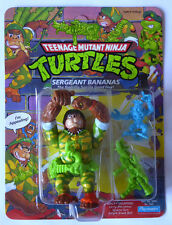 1991 TMNT Teenage Mutant Ninja Turtles figure Sergeant Bananas - MISB