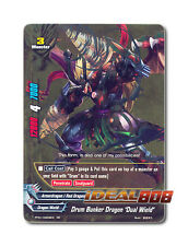 "Buddyfight x 1 Drum Bunker Dragon ""Dual Wield"" [PP01/0059EN RR] English Golden D"
